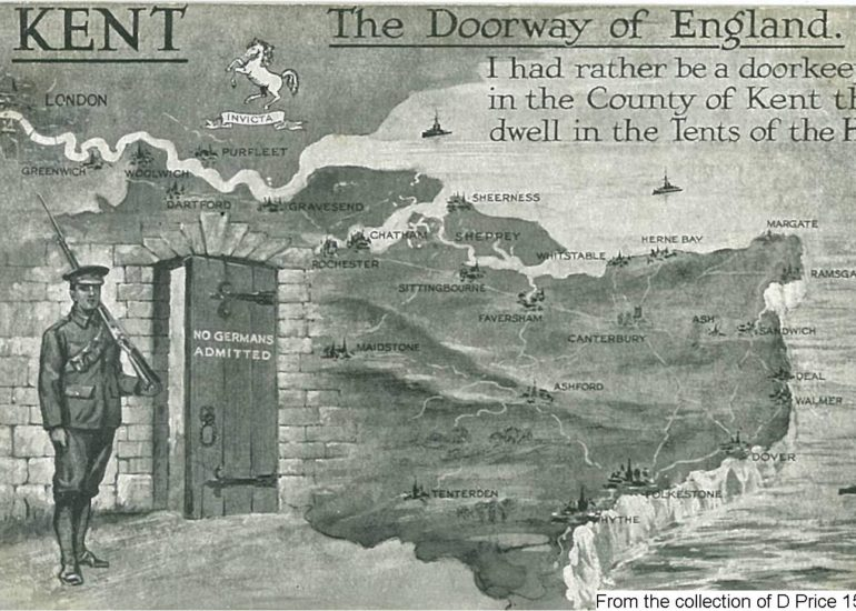150FAV - The Doorway Of Kent (Postcard) (Front)