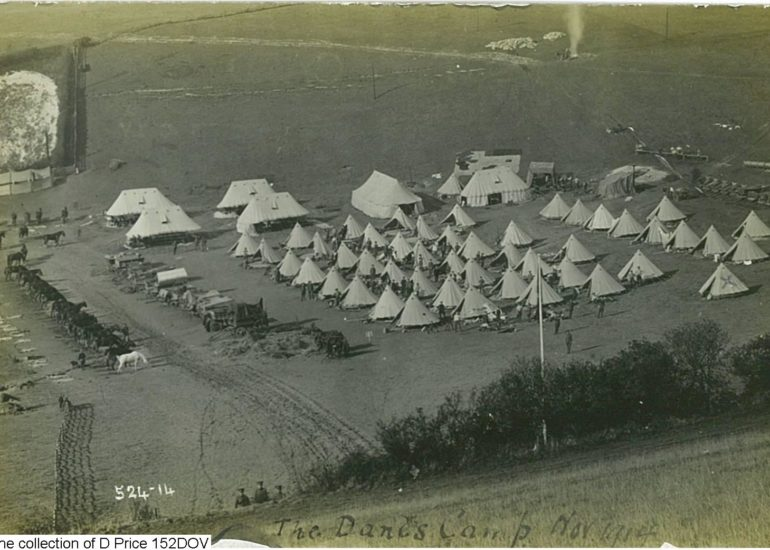 152DOV - Camp (Postcard) (Front)
