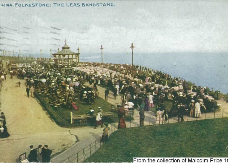 181FLK - The Leas Bandstand (Front)